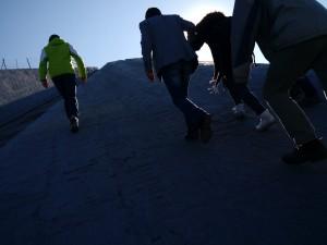 Die Besteigung der Pyramide