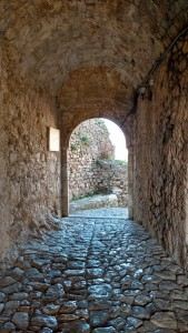 Einmarsch in die Burg von Kruja