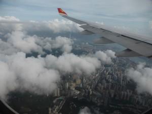 Flug nach Taipei