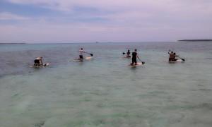 Island Hopping Standup Paddeling