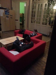 Chillen im Hostel