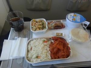 Essen bei Gulf Air