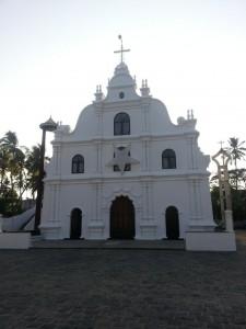 Basilika in Kochin bei Tag