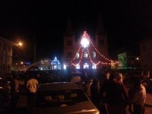 Die Basilika in der Nacht