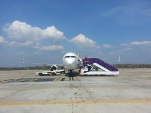 Das Flieger nach Krabi