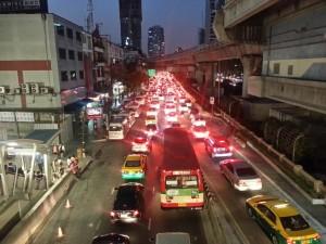 Der Verkehr in Bangkok