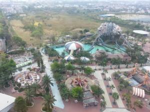 Ausblick aus dem Aussichtsturm