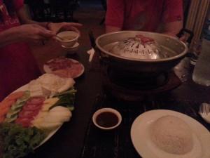 Abendessen - BBQ Kymer Style