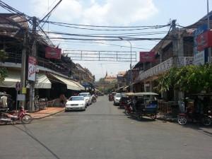 Die Pub Street am Tage