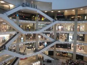 Eine der vielen Malls