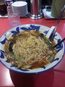 Das erste Abendessen in Japan - das erste mal Ramen