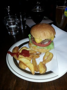Abendessen - Hamburger