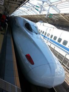 Unser Shinkansen nach Hiroshima