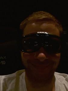 Die IMAX 3D Brille