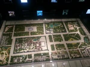 Modell des Kaiserlichen Parks