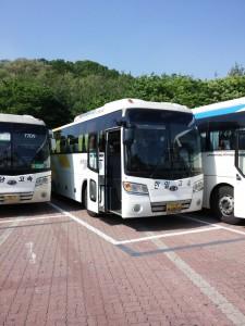 Mein Bus nach Gyeongju
