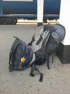 Mein Gepäck oder alles was ich gerade habe :)