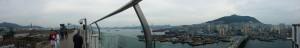 Panoramablick auf Busan