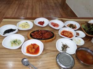 Mittagessen - traditionell koreanisch
