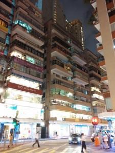 Im 5. Stock ist das Hostelzimmer