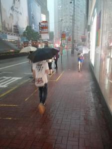 Es regnet wieder