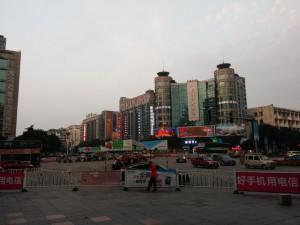 Die Innenstadt von Guilin