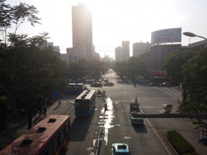 Unterwegs in Lanzhou