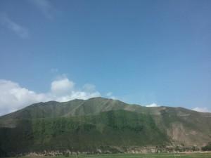 Auf dem Weg nach Lanzhou