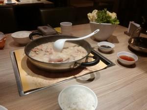 Hotpot Abendessen in Hangzhou