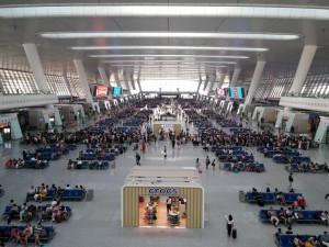 Der neue Bahnhof in Hangzhou