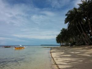 Am Strand von Siargao