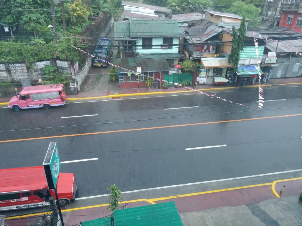 Regen, Regen, Regen in Cebu