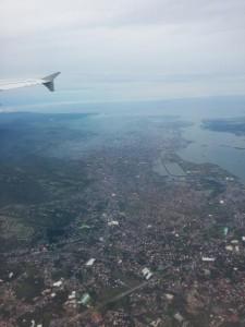 Flug über Cebu