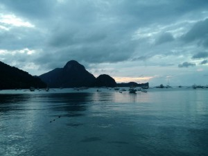 In El Nido am Strand