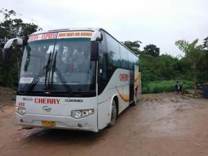 Der Bus nach Puerto Princesa