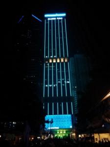 Unterwegs in Manila bei Nacht