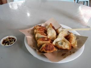 Dumplings zum Abendessen