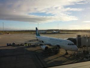 Mein Flieger nach Neu Seeland