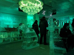 In der Ice Bar