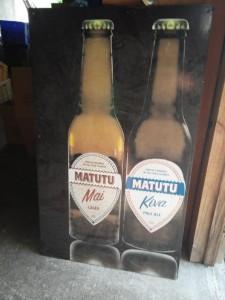 Lokales Bier - Matutu