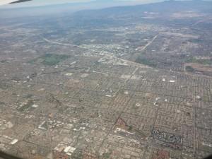 Los Angeles aus der Luft