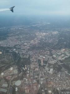 Pittsburgh von oben