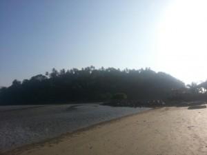 Die Affeninsel bei Palolem