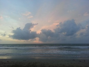 Sonnenuntergang in Bali
