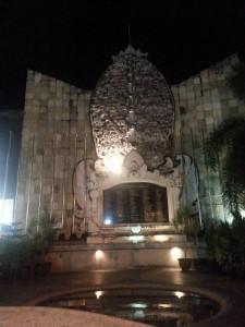 Denkmal des Anschlages in Bali im Jahr 2002