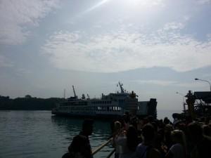 Unsere Fähre nach Lombok