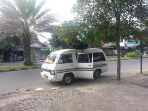 Unser Taxibus auf Lombok