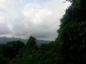 Die Fahrt durch Lombok - Berge hoch und runter