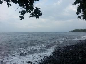 Der Strand in Tulamben