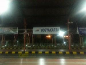 Ankunft in Yogyakarta